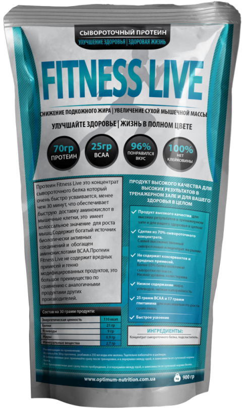fitness live Whey Protein Concentrate