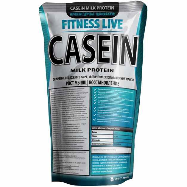 Fitness Live Casein 500гр